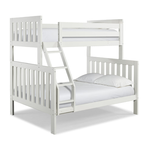 Canwood Lakecrest Twin Over Full Bunk Bed, White