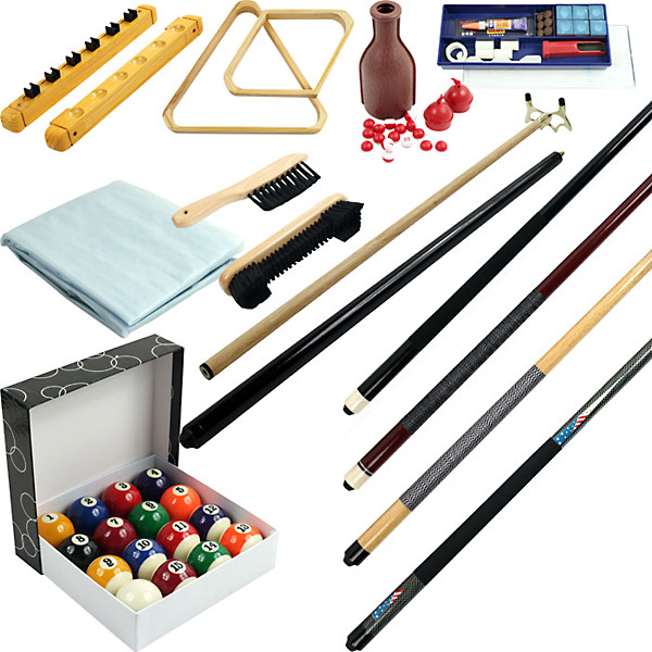 32 piece Billiards Accessories Kit for your Pool Table by