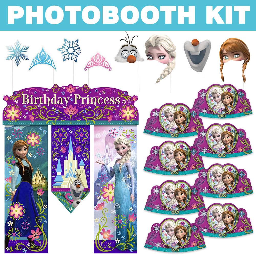 Frozen Photo Booth Kit - Party Supplies