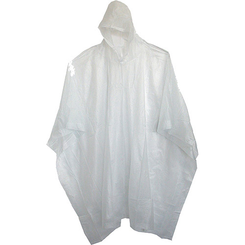 "Boss Gloves 61 80"" Clear Side Snap Vinyl Poncho by Boss Gloves"