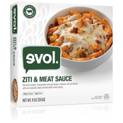 Evol Classic Single Meal Ziti Bolognese, 8.50-Ounce (8 Count)