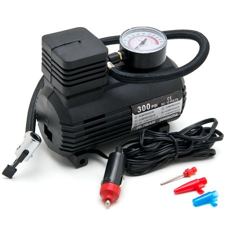 Biltek NEW Portable Mini Air Compressor Electric Tire Inflator Pump 12 Volt Car 12V