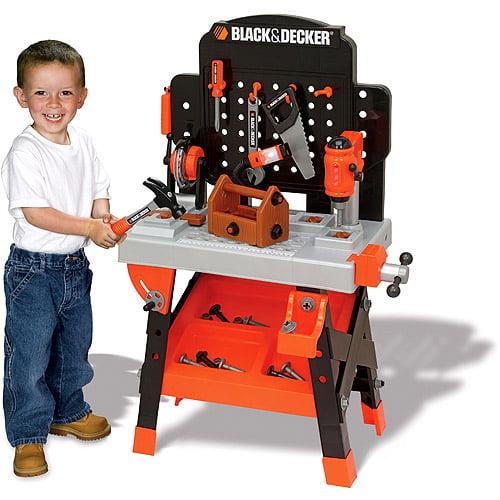 Black & Decker Power Tool Junior Workshop with 50 Accessories