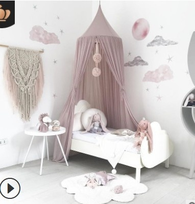 Lace Dome Mosquito Net Bed Canopy Netting Double King Size Fly Insect Protection