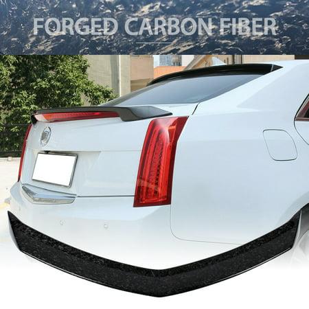 Cadillac Trunk Seal - Fits 13-18 Cadillac ATS ATSL V Style Trunk Spoiler Rear Wing Carbon Fiber