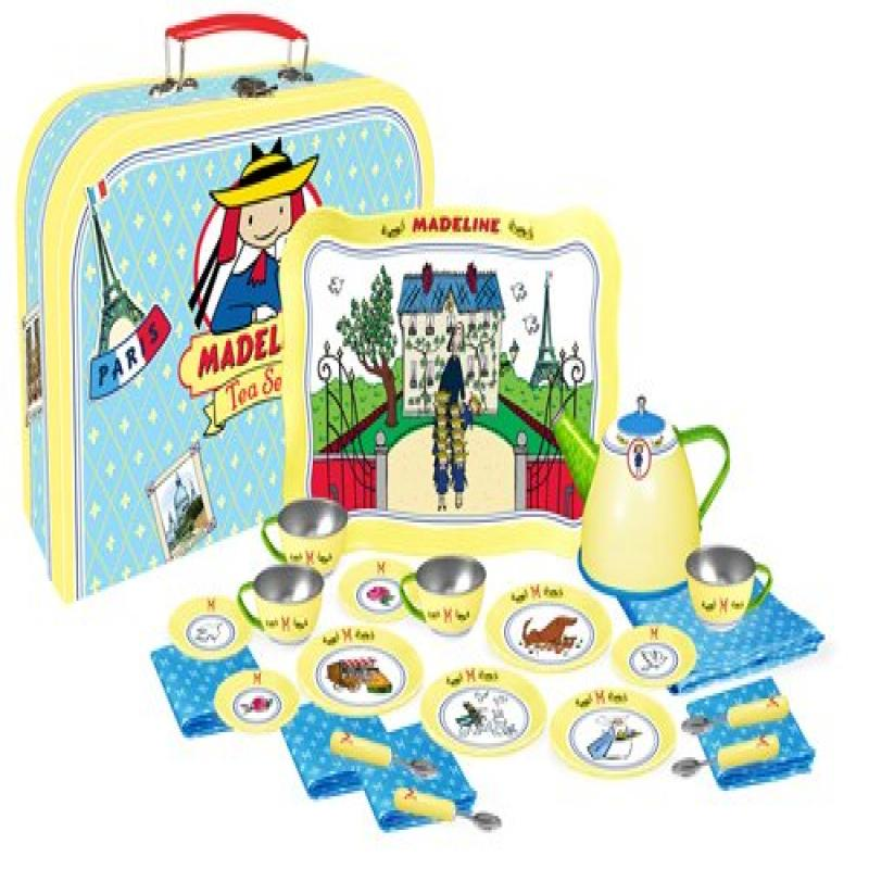 Madeline Tin Tea Set 24 Pieces by