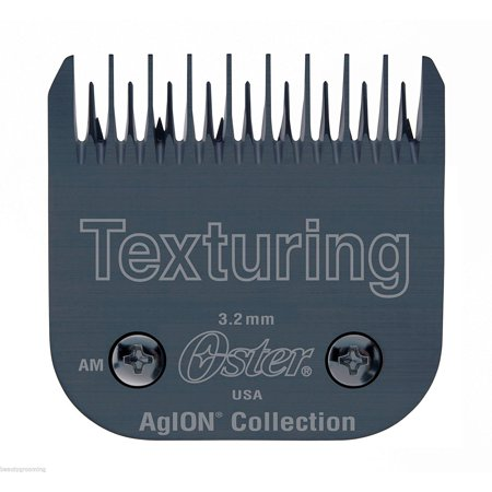 Detachable Texturing Blade Fits Classic 76, Titan, Turbo,Model 10, Outlaw Clippers, Leaves hair: 32