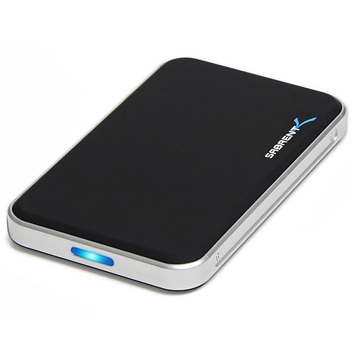 """Sabrent USB 3.0 to 2.5"""" SATA I-II/SSD Hard Drive Enclosure Case EC-TB4P"""