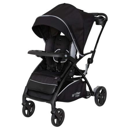 Baby Trend Sit N Stand® 5-in-1 - Shopper Stroller - Kona - Black