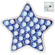 Bella Crystal Golf Ball Marker & Hat Clip - Blue Star