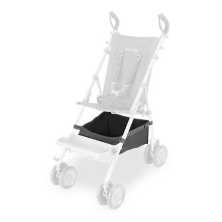 Maclaren Major Shopping Basket, Charcoal Maclaren's Major Elite Shopping Basket is the perfect accessory for those busy days. It stores your purchases as well as essentials for your child. The Shopping Bag fits securely on the base of our special needs transport chair for easy access.