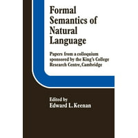 Formal Semantics of Natural Language