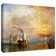 ArtWall 'The Fighting Temeraire' by William Turner Painting Print on Wrapped Canvas