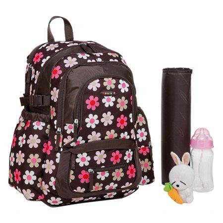 colorland large backpack diaper bag french flower. Black Bedroom Furniture Sets. Home Design Ideas