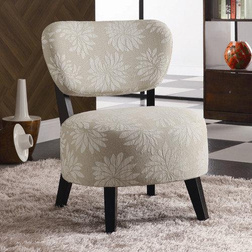 Wildon Home  Santa Rosa Fabric Slipper Chair