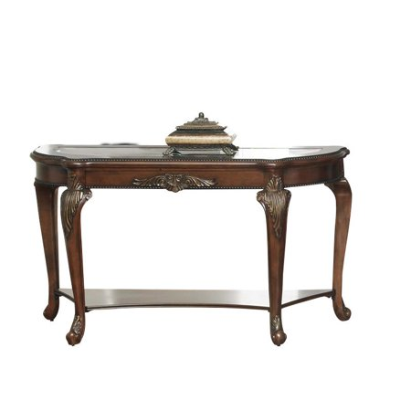 Liberty Furniture Eden Park Gl Top Console Table In Antique Cherry