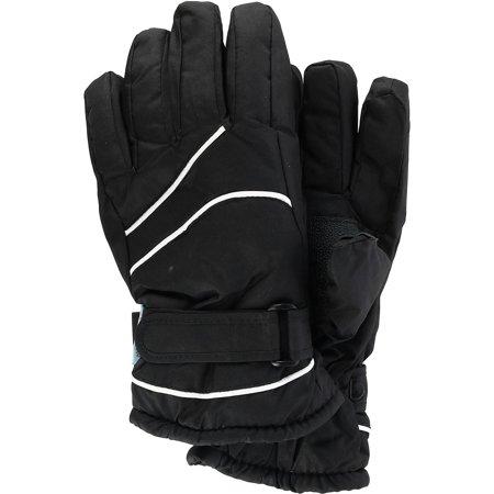 Women's Ski Glove with Thinsulate Lining,  Black