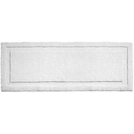 Bathroom Spa (InterDesign Microfiber Spa Non-Slip Long Bathroom Rug, 60