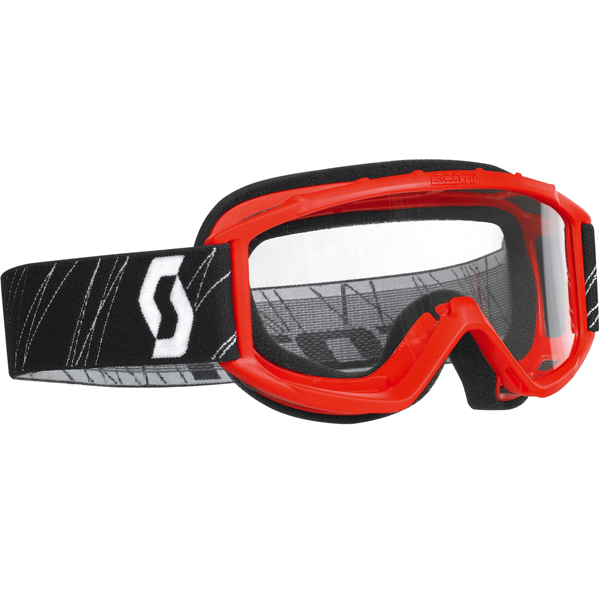 Scott USA 89 Si Youth MX/Offroad Goggles Red