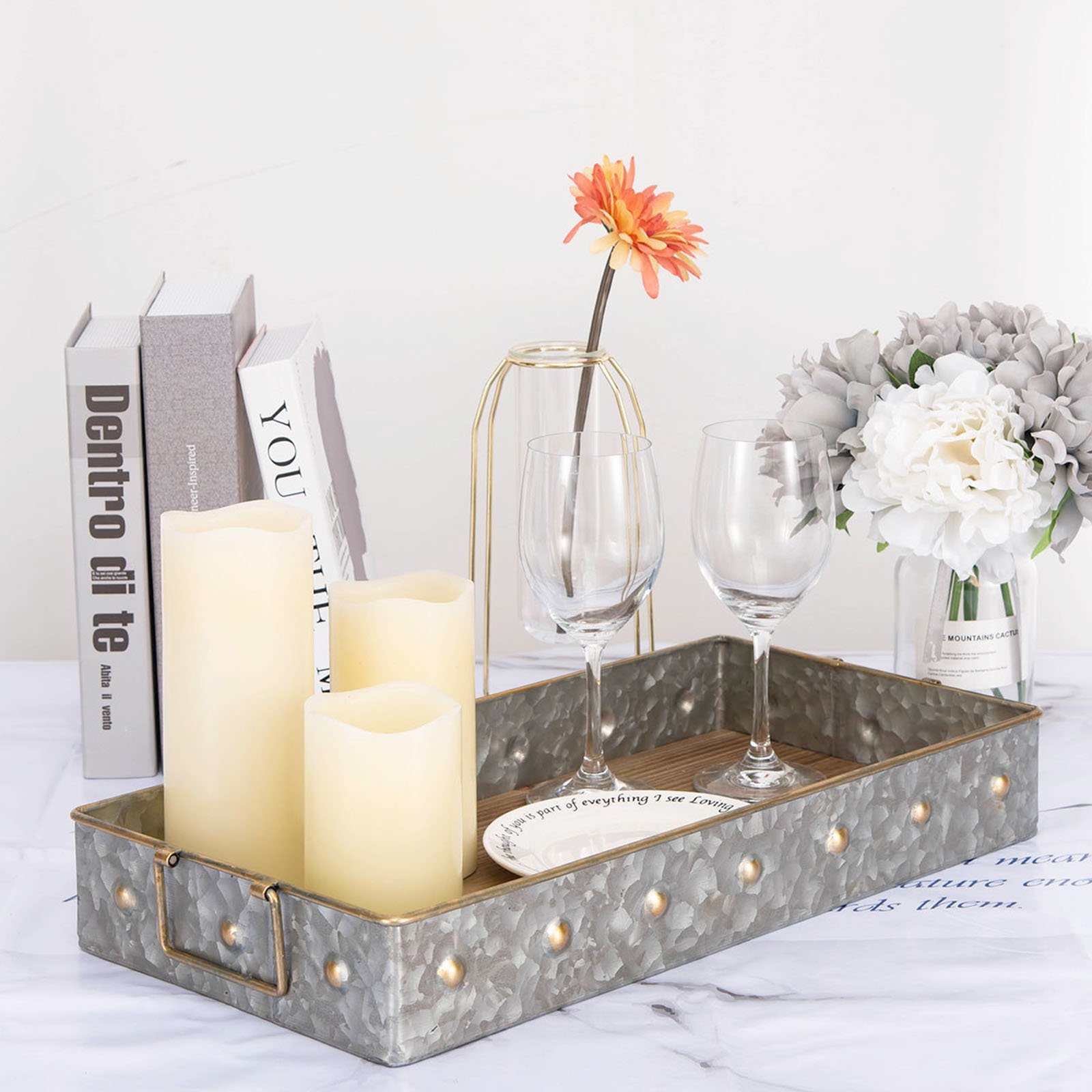 """USA SELLER  12-14/"""" SERVING TRAYS NON SKID BLACK FREE SHIPPING US ONLY"""