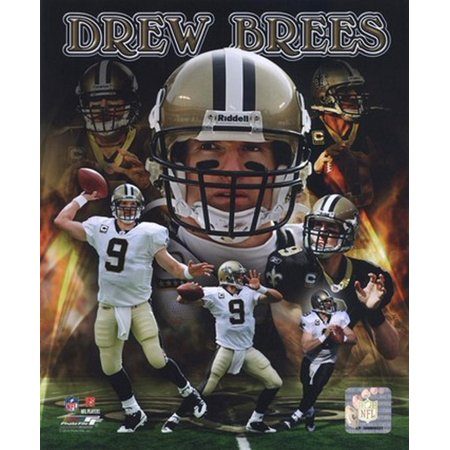 Drew Brees 2010 Portrait Plus Sports Photo
