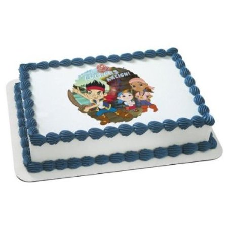 1 X Jake & the Neverland Pirates Disney Jr. Edible Cake Image Topper by Deco