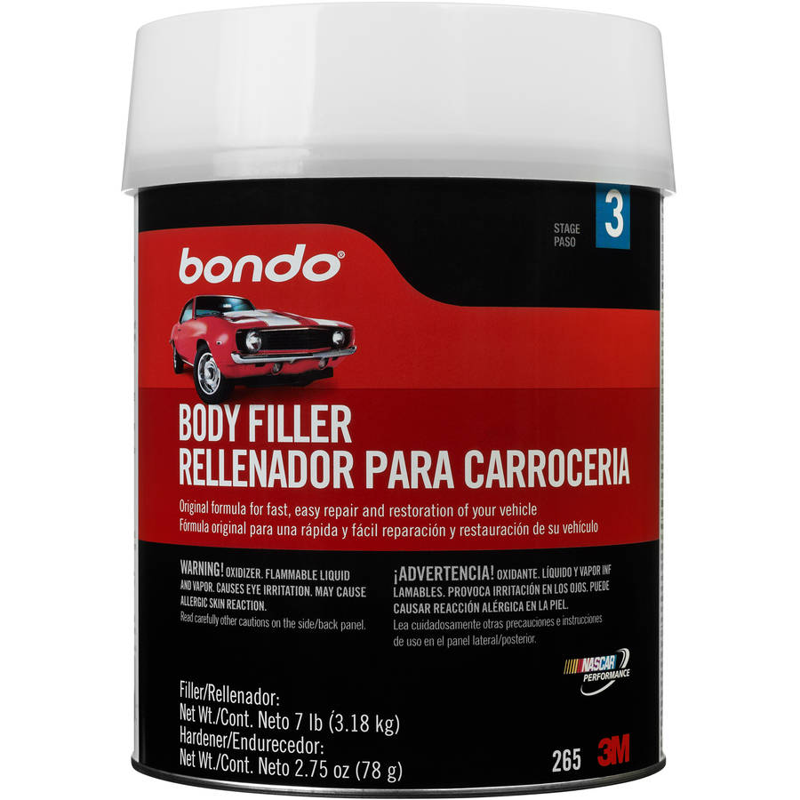 Bondo Body Filler 1 Gallon Walmartcom