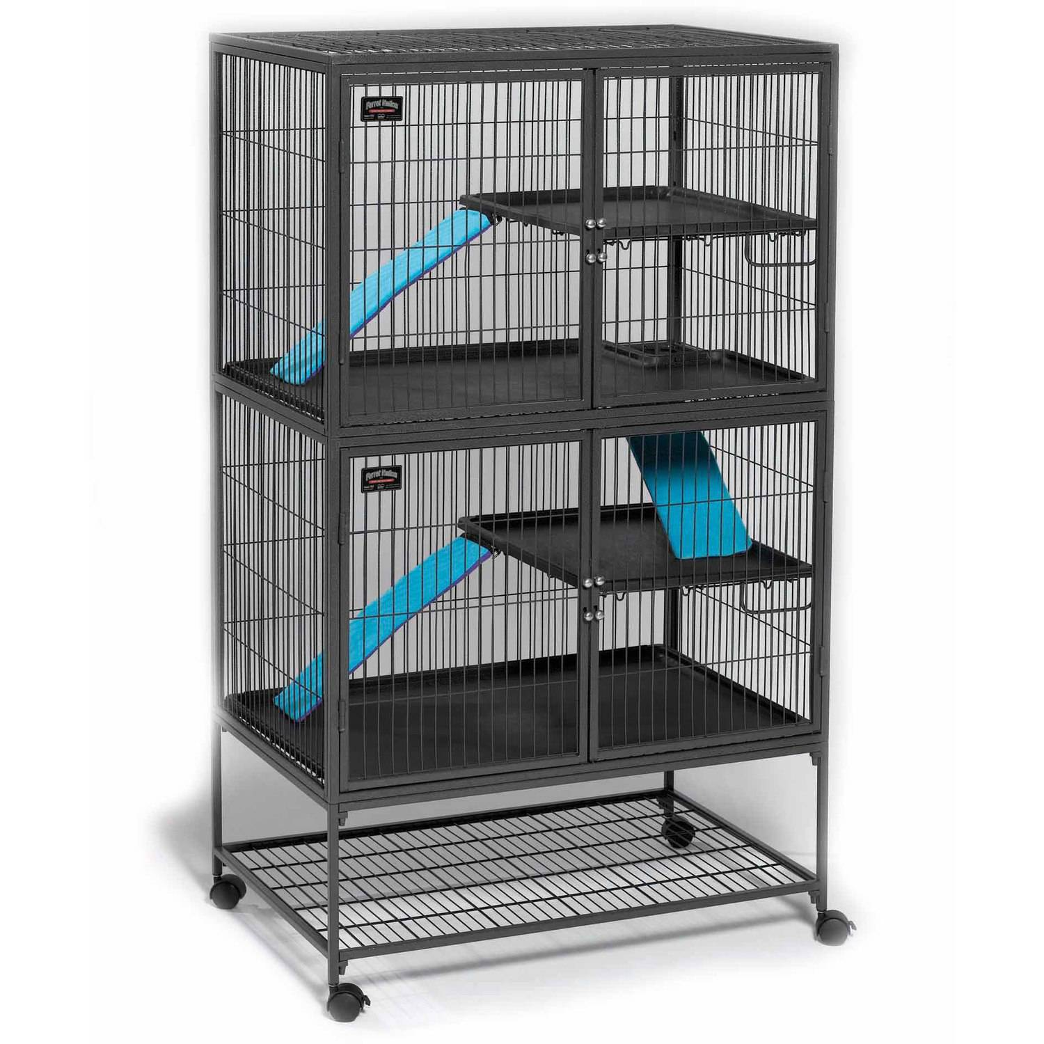 Ferret Nation Double Unit with Stand