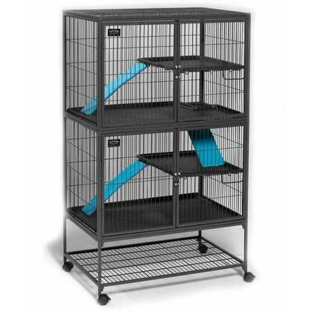 Deluxe Rabbit (MidWest Deluxe Ferret Nation Double Unit Ferret Cage )