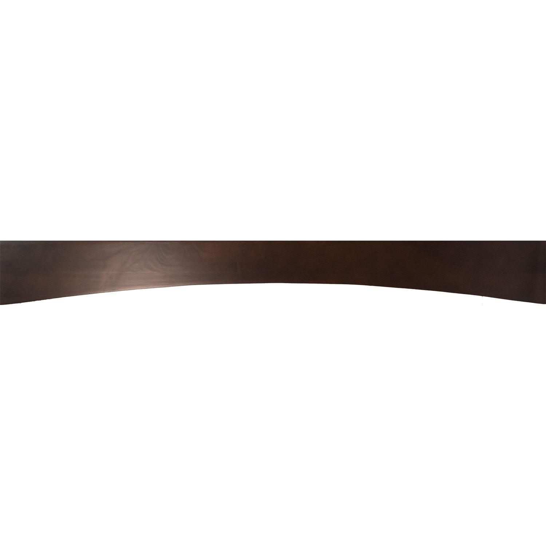 Everyday Cabinets 60-inch Cherry Mahogany Brown Leo Saddl...
