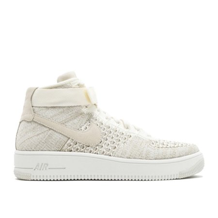 the latest bcc4a 602be Nike - Men - Air Force 1 Mid Flyknit - 817420-101 - Size 8