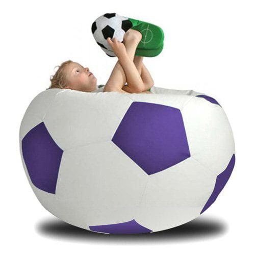 Turbo Beanbags Soccer Ball XXXL Bean Bag Sofa