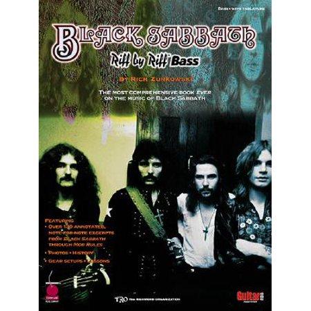 Black Sabbath - Riff by Riff Bass (Best Bass Riffs To Learn)