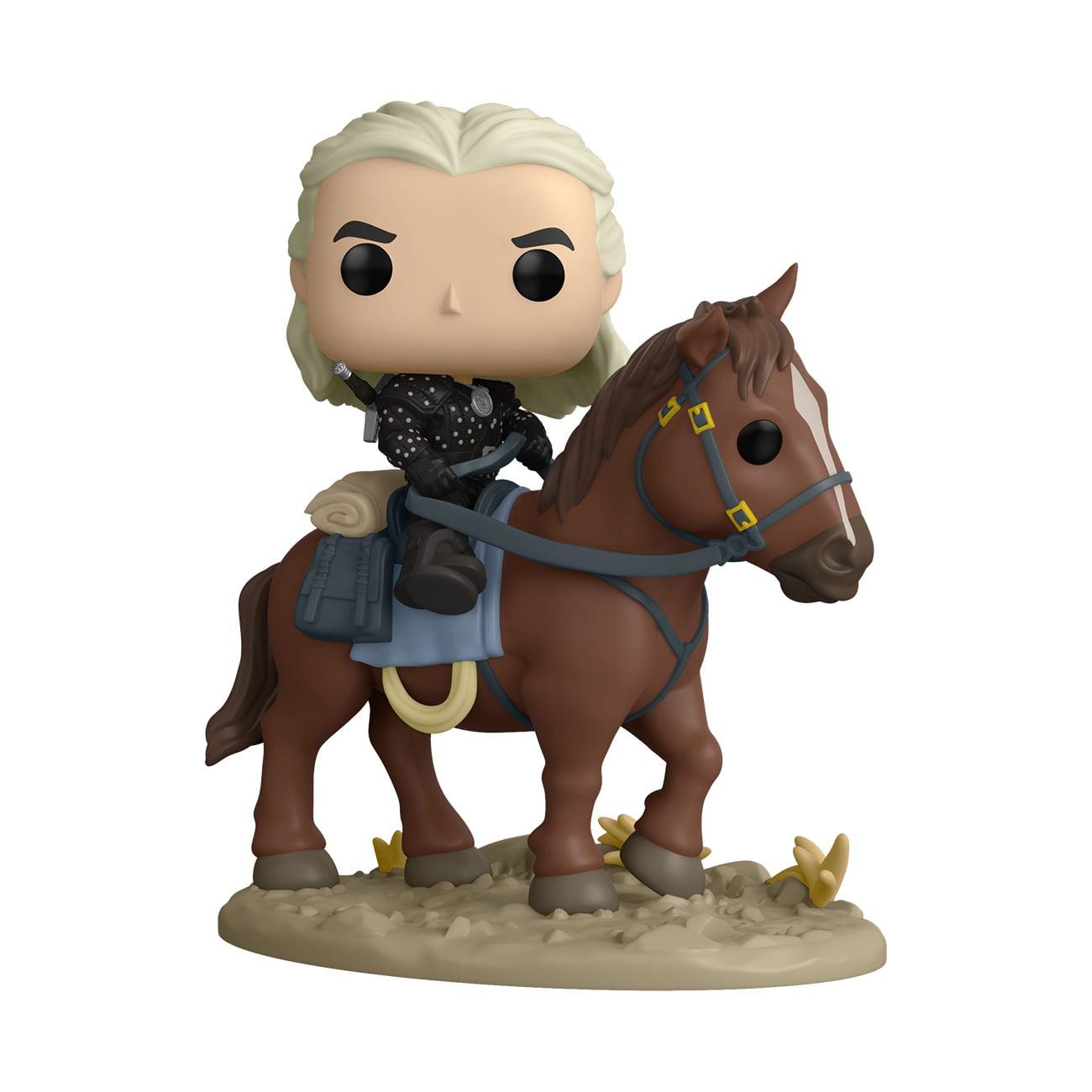 Funko Pop! Ride Deluxe: Witcher - Geralt And Roach Vinyl Figure