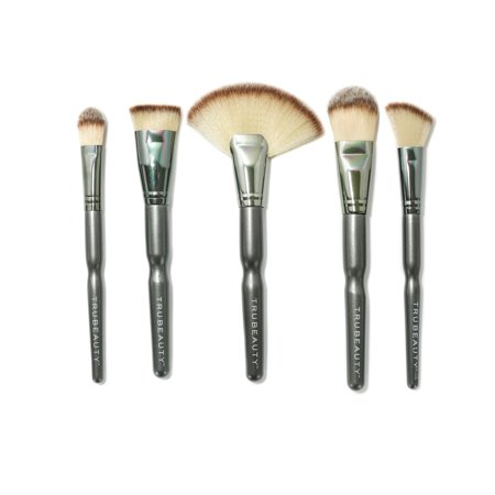 Beauty Brush Set (Tru Beauty 5pc Pro Essentials Makeup Brush Set )