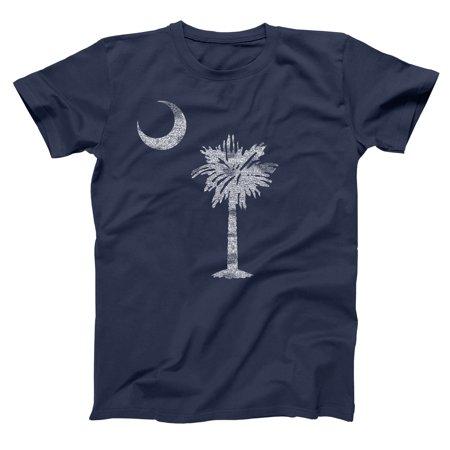 Usps South Carolina (South Carolina Flag Small Navy Basic Men's)