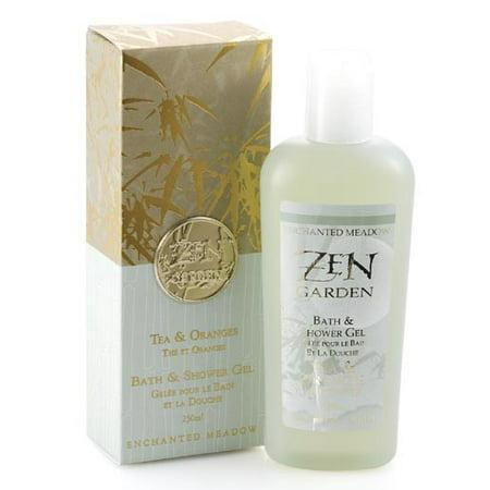 Enchanted Meadow Zen Bath & Shower Gel 8 oz. - Tea & - Enchanted Meadow Zen Bath