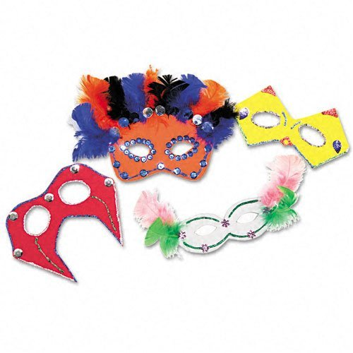 Chenillekraft Foam Mask Kit - Assorted (5486)