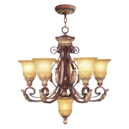Livex Lighting Villa Verona 5 Light Chandelier