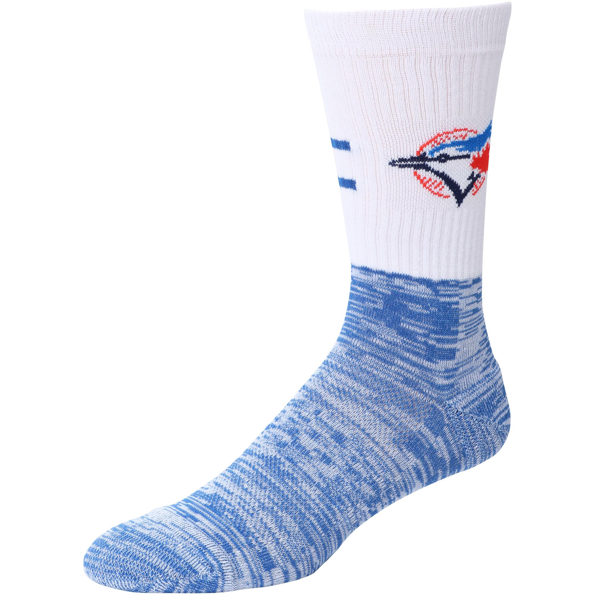 Toronto Blue Jays Block Crew Sock - L