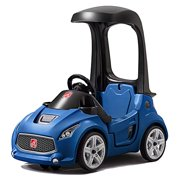 Step2 Turbo Coupe Foot-to-Floor Kids Ride-on, Blue