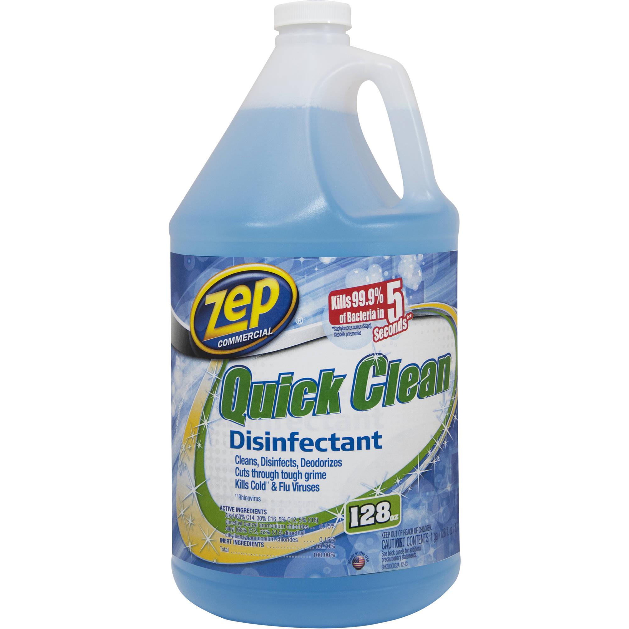 Zep Commercial Quick Clean Disinfectant, 1 gal
