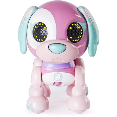 Best Zoomer Zupps Tiny Pups, Spaniel Bubblegum, Litter 3, Interactive Puppy with Lights, Sounds and Sensors deal