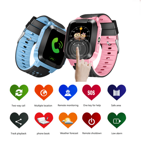 Holiday Clearance Smart Watch for Kids - Smart Watches for Boys Smartwatch LBS Tracker Watch Wrist Android Mobile Camera Cell Phone Best Gift for Girls Children - Halloween Makeup For Kids Witch