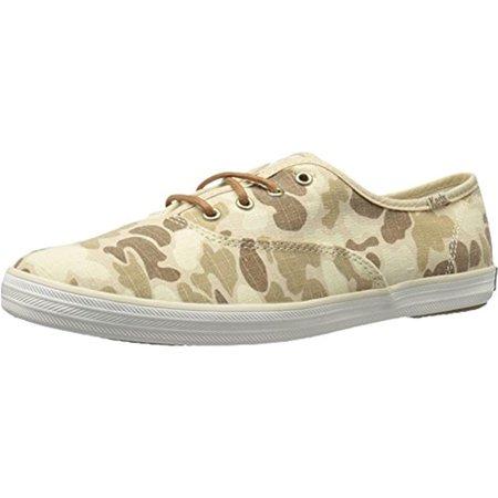 1bb62c6f273 Keds - Keds Womens Camouflage Round Toe Fashion Sneakers - Walmart.com