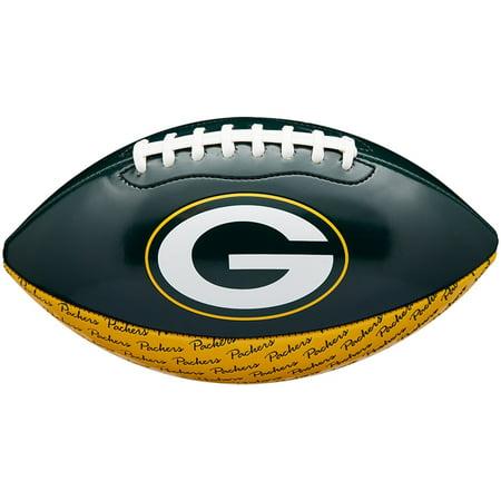 Green Bay Packers Wilson Mini Team Peewee Debossed Football