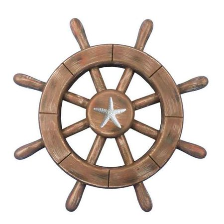 Handcrafted Nautical Decor Ship Wheel Wall D cor](Ship Wheel Decor)