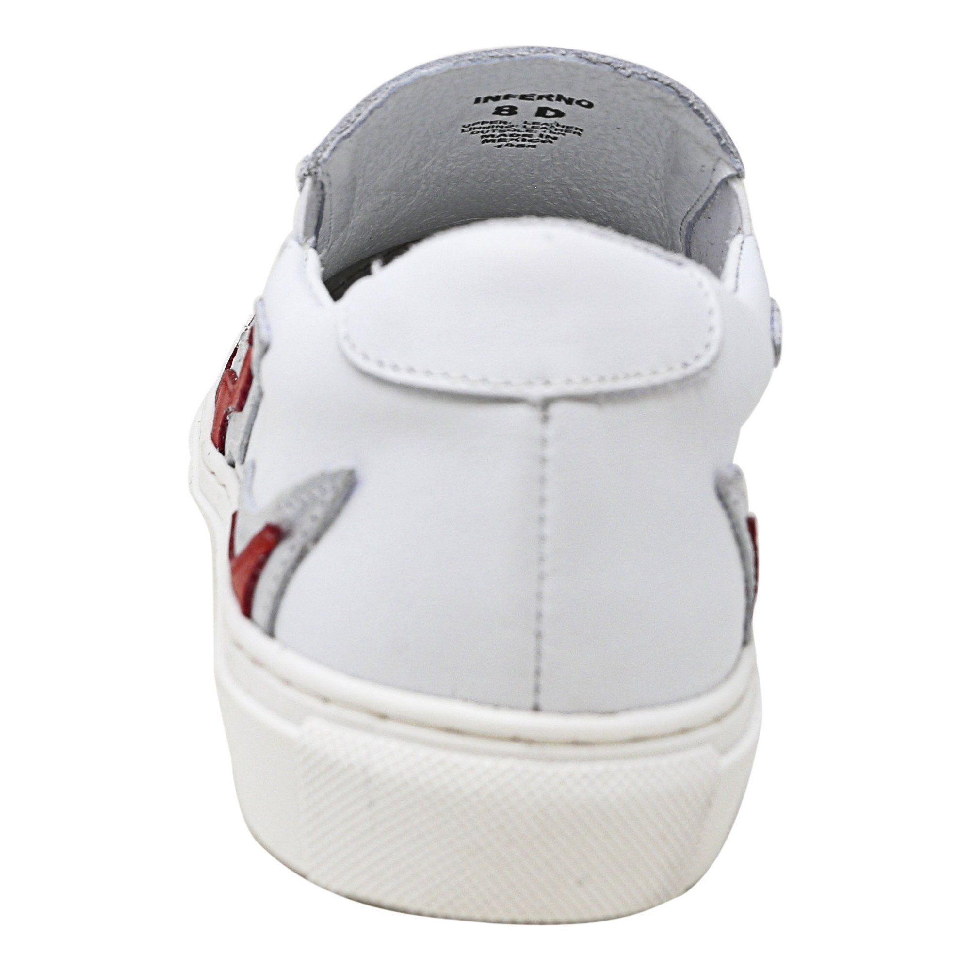 262a2b67a96cc Steve Madden Men's Inferno White Ankle-High Leather Slip-On Shoes - 8M |  Walmart Canada