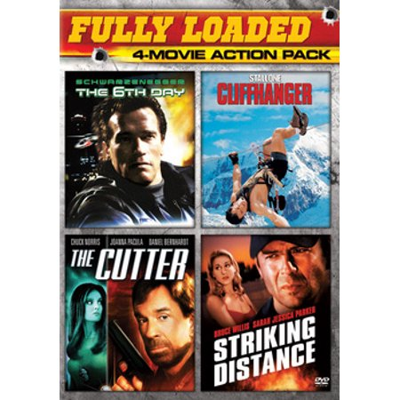The 6th Day / The Cutter / Cliffhanger / Striking Distance (DVD) (The Striking Viking)