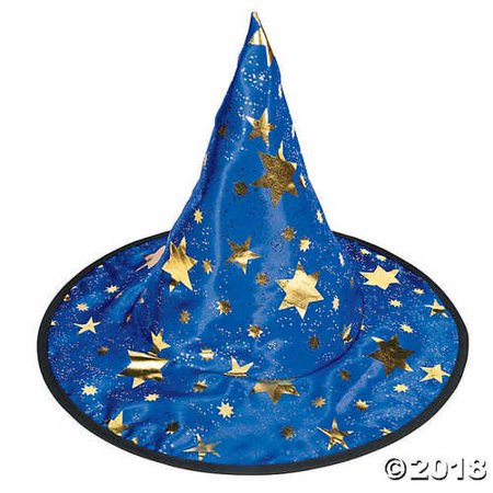 Witch Wizard Hat with Stars](Wizard Hat)